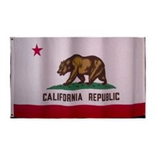the flag of california 3'x5' Area Rug