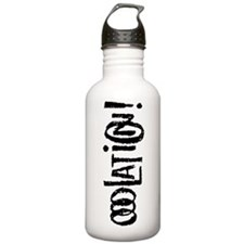 Ooolation! squished ve Water Bottle