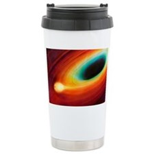 This artwork shows a star being Ceramic Travel Mug
