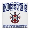 KOESTER University Tile Coaster