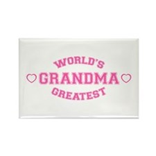 World's Greatest Grandma Rectangle Magnet (100 pac