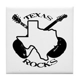 Texas Rocks Tile Coaster
