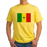 Senegal Flag T Shirts T
