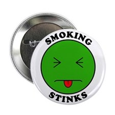 "Smoking Stinks 2.25"" Button (100 pack)"