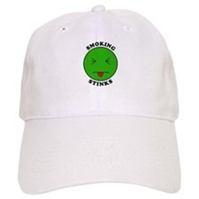 Smoking Stinks Baseball Cap