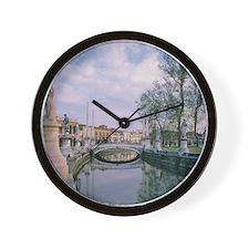 Italy, Veneto, Padua, moat around Prato Wall Clock