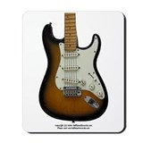"""Hot Wax"" Guitar Mousepad"