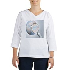 reading glass shows Afghanistan Women's Long Sleeve Shirt (3/4 Sleeve)