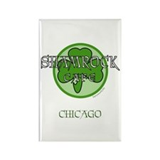 Shamrock Cafe-Chicago Rectangle Magnet (10 pack)