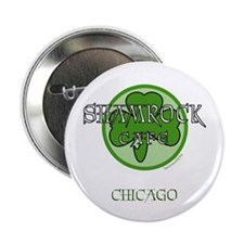 "Shamrock Cafe-Chicago 2.25"" Button (10 pack)"