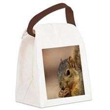 Fox Squirrel Canvas Lunch Bag