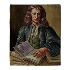 Isaac Newton Throw Blanket