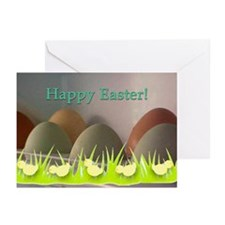 Easter Egg and Chick Greeting Cards (Pk of 10)