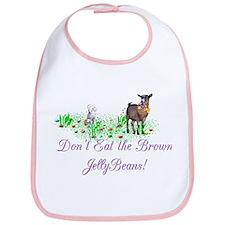 Pygmy-GOAT-Brown JellyBeans Bib