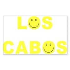 Los Cabos Smile Rectangle Decal