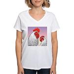 Delaware Fowl Women's V-Neck T-Shirt