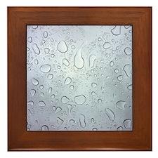 Raindrop Framed Tile