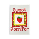 Sweet Jennifer Rectangle Magnet