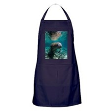 Manatee Crystal River Apron (dark)