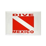 Dive Mexico Rectangle Magnet (100 pack)