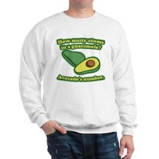 How many atoms in a guacamole? Avocado's number. S