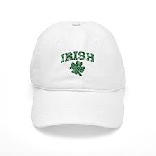 Worn Irish Shamrock Baseball Cap