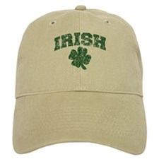 Worn Irish Shamrock Baseball Cap
