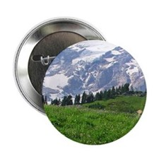"Alpine wildflowers in full bloom lead 2.25"" Button"