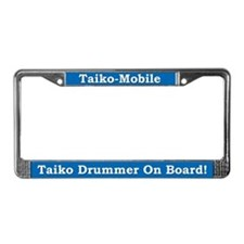Taiko-Mobile License Plate Frame