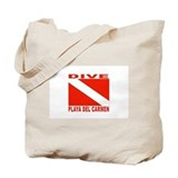 Dive Playa Del Carmen Tote Bag