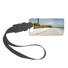 The beach near Sanibel Lighthous Luggage Tag
