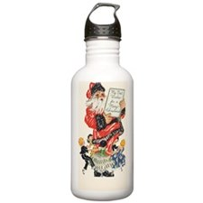 Vintage Christmas Water Bottle