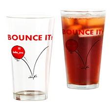 bounce_it Drinking Glass
