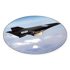 X-43A aircraft Stickers