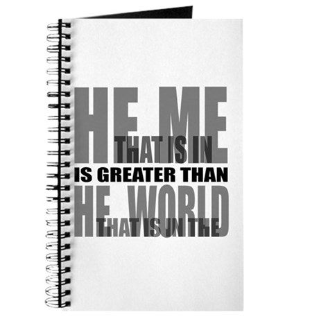 He is Greater Journal