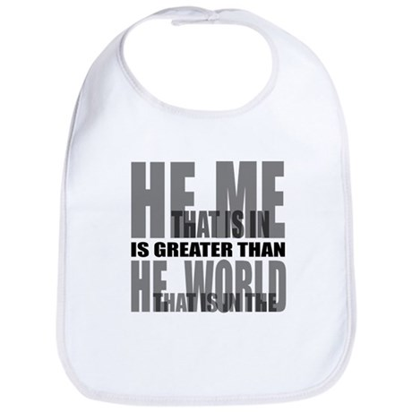 He is Greater Bib