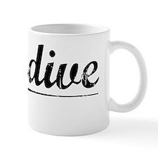Glendive, Vintage Mug