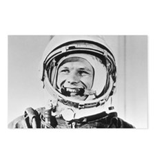 Yuri Gagarin Postcards (Package of 8)