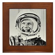 Yuri Gagarin Framed Tile