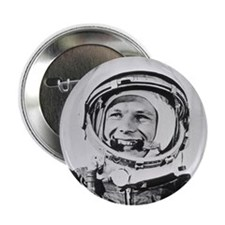 "Yuri Gagarin 2.25"" Button"