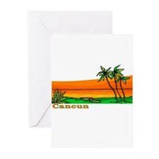 Cancun, Mexico Greeting Cards (Pk of 10)