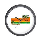 Cancun, Mexico Wall Clock