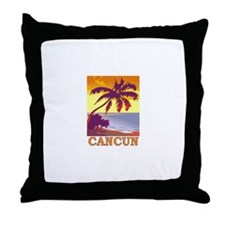 Cancun, Mexico Throw Pillow