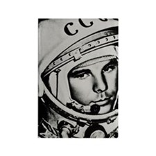 Yuri Gagarin Rectangle Magnet
