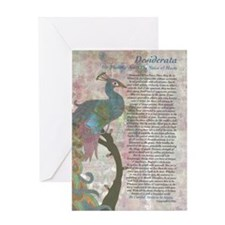 DESIDERATA Poem Greeting Card