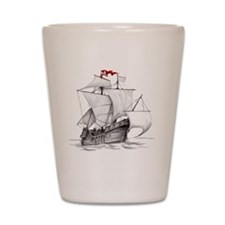 Pirate Ship Shot Glass
