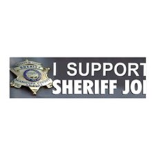 I SUPPORT SHERIFF JOE Wall Decal