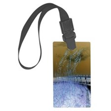 Blue Sea Oats Luggage Tag