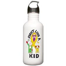 fight like a kid Water Bottle