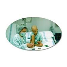 Leukaemia patient Wall Decal